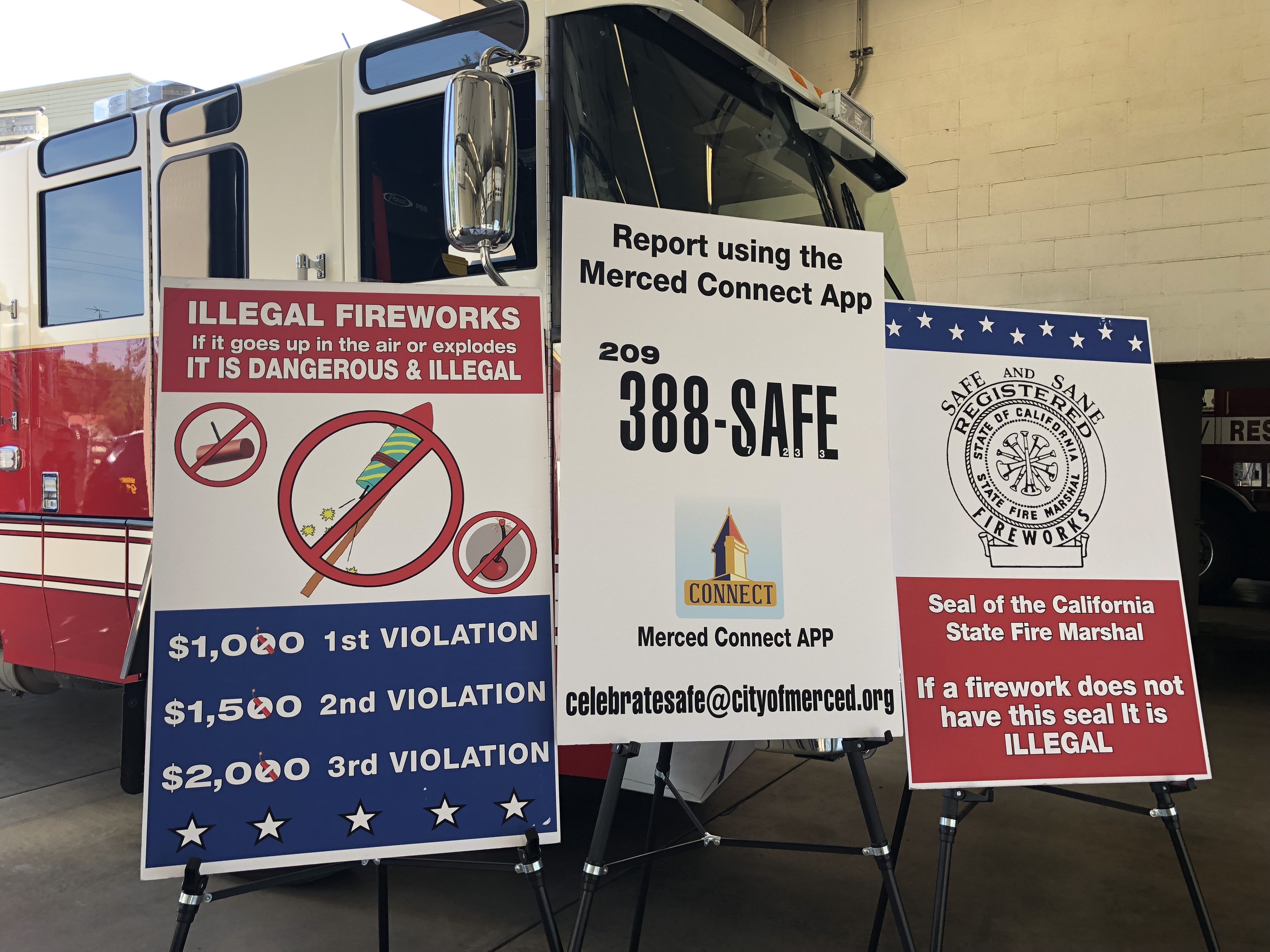 Merced cracking down on illegal fireworks — Merced County Times