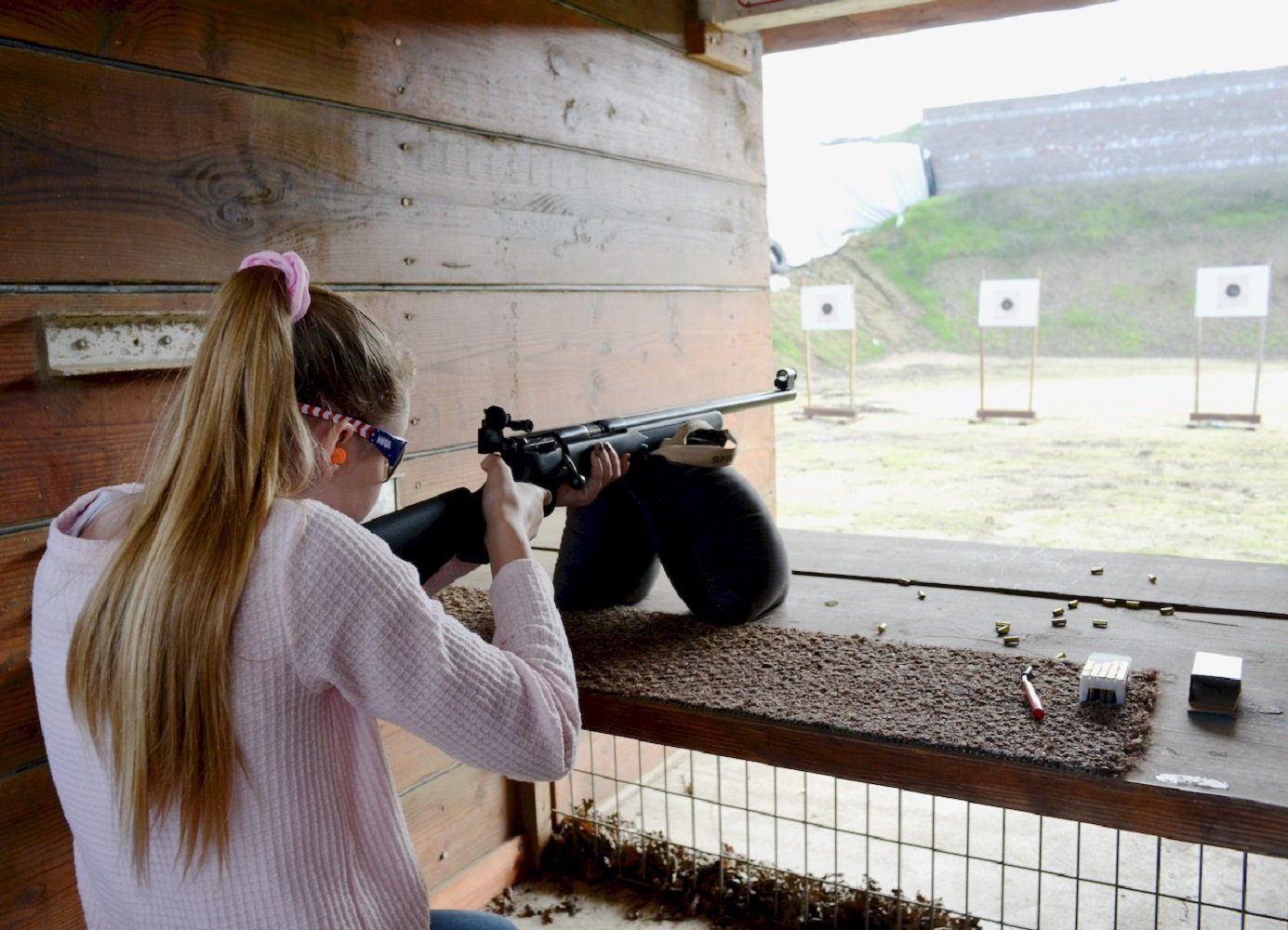 Hundreds of Girl Scouts learning gun safety, marksmanship — Merced County Times