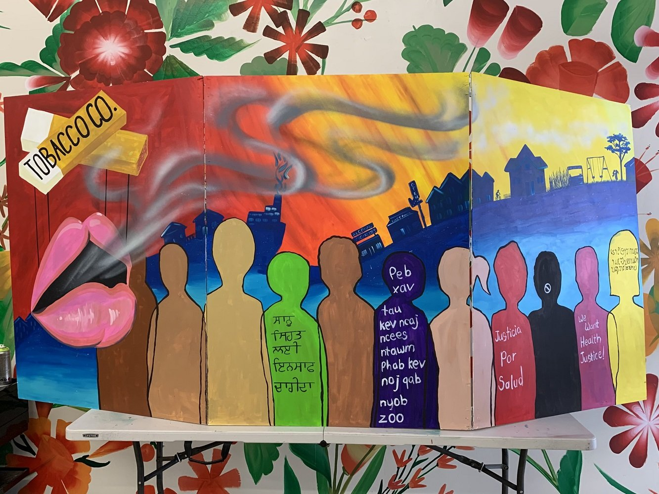 mercedcountytimes.com: Mural Art Used To Create 'Health Justice' Awareness — Merced County Times